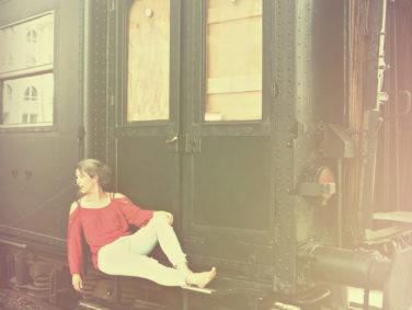Kathelijn van Dongen - fotoshoot trein